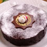 ガトー・オ・ショコラの簡単クリスマスケーキ
