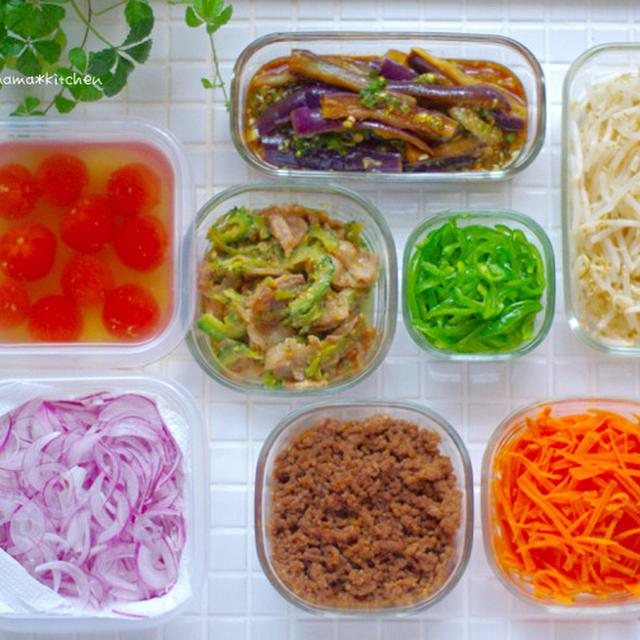 夏野菜がいっぱい!お弁当まとめ*久しぶりに母とランチ(息子の件。長いです。)