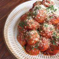 完熟トマトソースで簡単♪ご飯がススム ミートボール