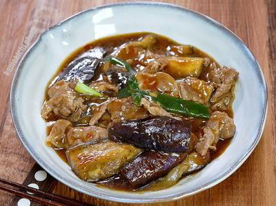 トロンと食べる「茄子と豚肉の麻婆炒め」&やっと食べたアルハンブラで「ビーフカツ 」