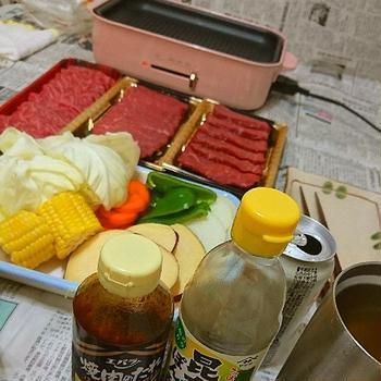 連休中日はBRUNOでおうち焼き肉~