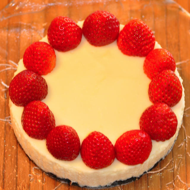 マシュマロdeライムチーズケーキ
