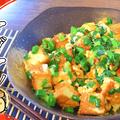 コスパと旨さ◎スイチリマヨエッグの厚揚げ小葱チャンプル(糖質5.4g)