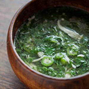 食欲がない日でも!「モロヘイヤ」のスープで栄養補給!