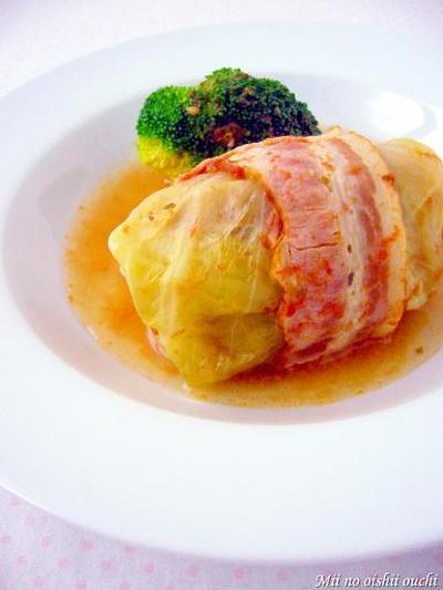 こんなにおいしいの?レストラン風トマト煮込みロールキャベツの作り方