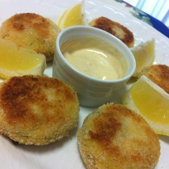 サーモンのフィッシュケーキ 〜イギリス風コロッケ