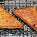 お魚厚揚げ(揚げかまぼこ)の炭火焼