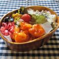 4・30 エビチリで中華っぽいお弁当♪ by YUKAさん