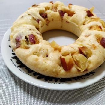 リメイク蒸しパン