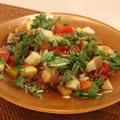 スパイスアンバサダー*クミン&オリーブオイルで、冷凍トマトとカラフル野菜の冷やし中華