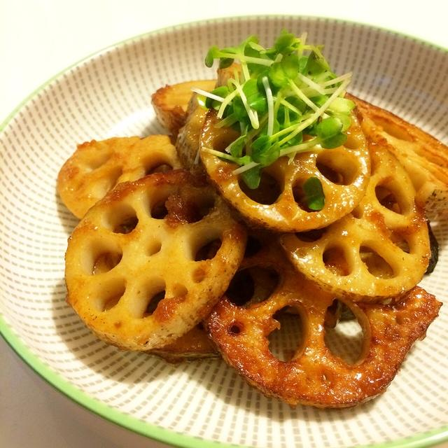 蓮根の生姜焼き♡おとな味