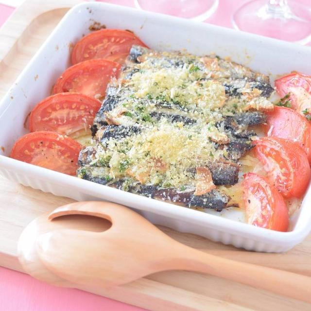 イワシとトマトのフェンネル風味オーブン焼き【スパイス大使】GABANフェンネル