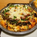 青ネギたっぷり タルタルピザ