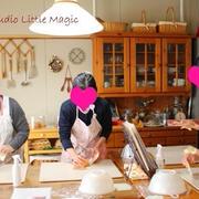 Littleコース☆ジェノベーゼ&Magicコース☆パルミエショコラ&苺のロールケーキ