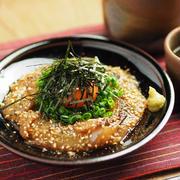 レシピブログ連載、白身魚のごまダレ漬け、イマイチの刺身を美味しく食べる