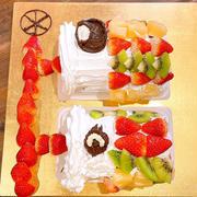 市販のロールケーキで鯉のぼりケーキを作ろう!!