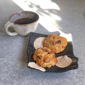 米粉のホットケーキミックスで適当に作ったホットビスケット