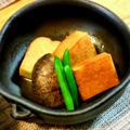 高野豆腐の揚げ煮~☆
