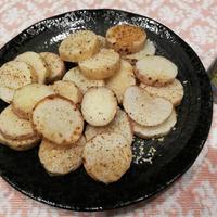 皮つき長芋のシンプルステーキ!&学校が始まりました!