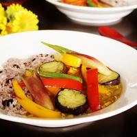 夏野菜とひき肉の和風カレー