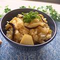 旨みたっぷり♪麺つゆで楽々!筍と大洲産原木乾しいたけの炊き込みご飯
