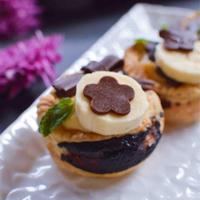 チョコパイ バナナカスタードタルト