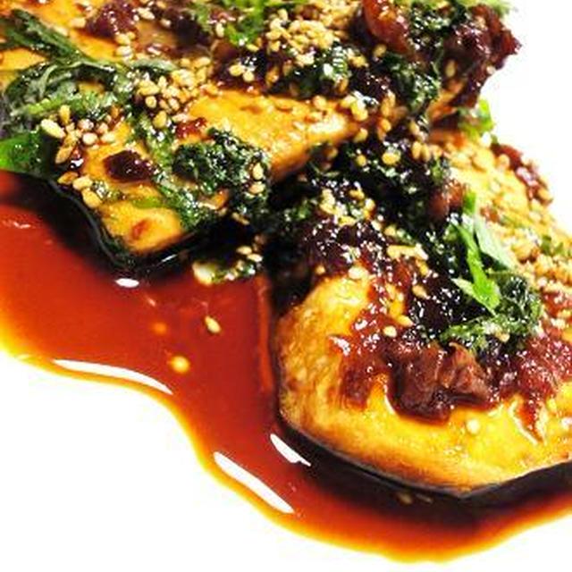■カジキマグロのソテー 梅紫蘇風味