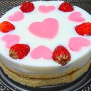 愛がいっぱい!牛乳プリンケーキ