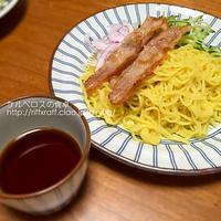ざるラーメンのアレンジレシピ(夕食2015.5.23)
