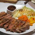 アメリカンビーフで作る♪冷めても美味しいステーキ。とぼる喜びの時