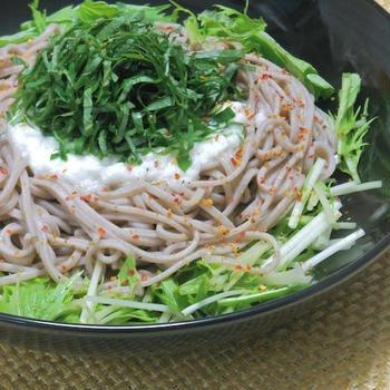 くらしのアンテナ掲載!大葉でさっぱり&爽やか〜ボリュームたっぷりの麺レシピ。