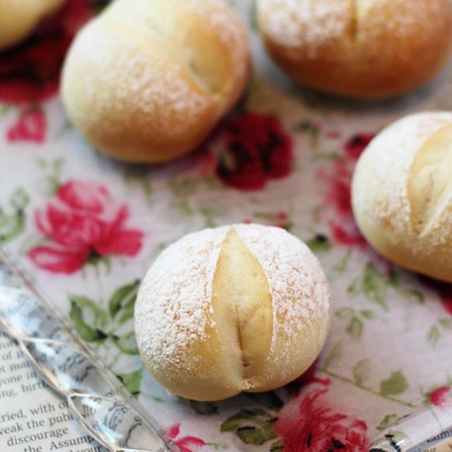 塩麹パン、柚子コショウのカルボナーラ