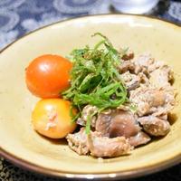 【ヤマキだし部】鶏モツ煮。甲府に行かなくても食べられるお酒の進むおつまみ。