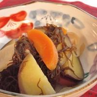 破格の大根メイン!?根菜ともずくの和風炒め煮
