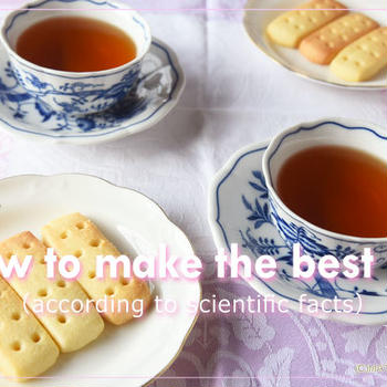 <まとめ>美味しい紅茶の淹れ方に関する研究と実践