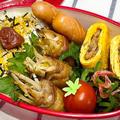 【お弁当】お弁当作り/bento/フライパン1つで完結/豚バラもやしの柚子ポン酢