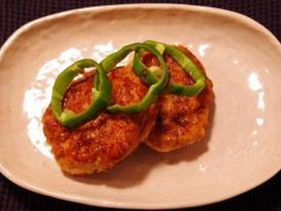 >焼肉のたれで、野菜たっぷりつくね by jaga2さん