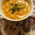 お豆とスパイスのスープパスタ ハリラ
