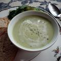 豆乳とアボカドレモンの冷製スープ by etsukoさん