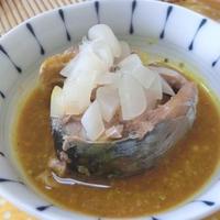 サバの水煮缶で3分♪ サバのスープカレー