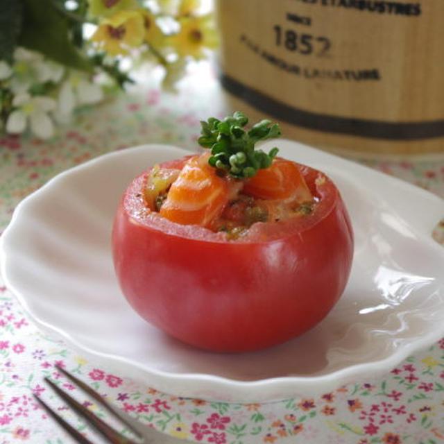 トマトカップのカルパッチョ