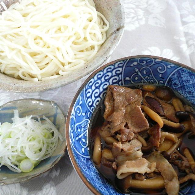 豚きのこつけ麺