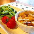 Oisixの新鮮野菜で♪小松菜のにんにく塩炒めとエリンギのバター醤油炒め