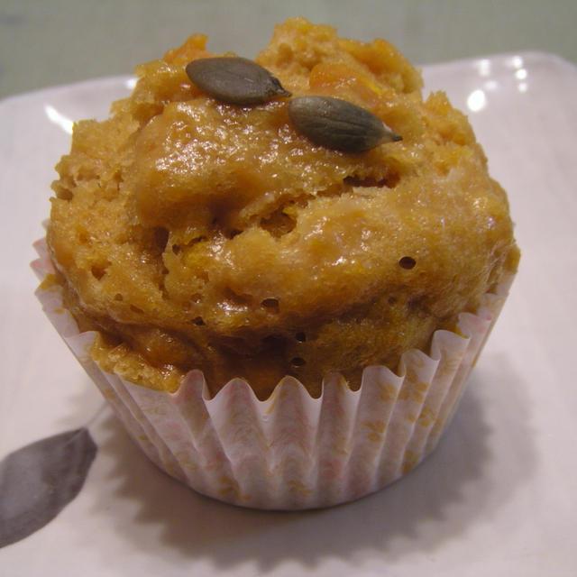 かぼちゃのしっとりヨーグルト味噌蒸しパン