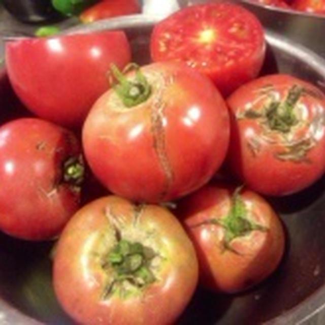 プレ農家めし◆フレッシュトマトご飯/ドライトマト