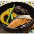 簡単!秋鮭のジンジャー風味☆オイル焼き
