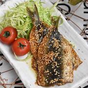 魚料理も簡単♪育ち盛りの子供さんに DHAカルシウムたっぷり ご飯がススムいわしの蒲焼