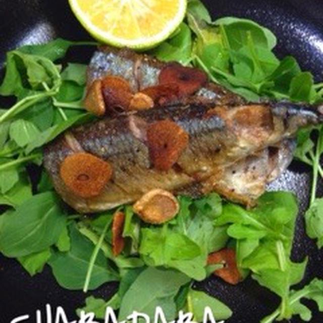 簡単!秋刀魚のガーリックステーキ