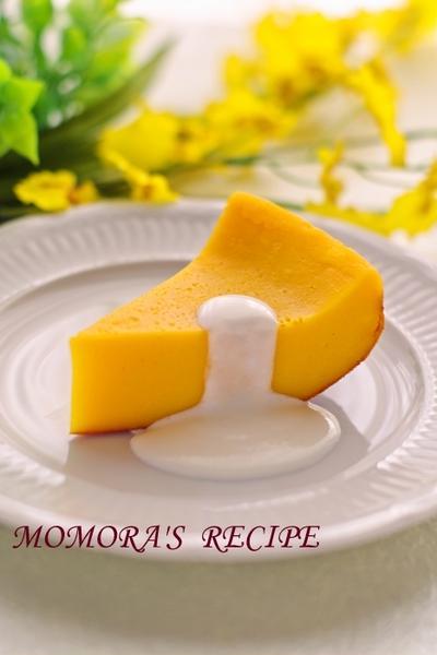 ホットケーキミックスHMと炊飯器で簡単ハロウィンお菓子♪超シットリ濃厚かぼちゃケーキ