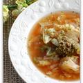 野菜スープinジェノベーゼ